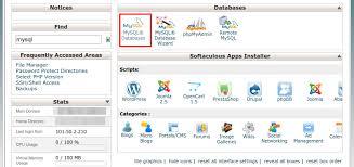 cara membuat database baru mysql tutorial mysql database menggunakan phpmyadmin dan cpanel