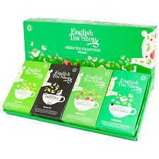 tea shop organic green tea collection 60 bags sachets