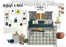 playroom design stylish u0026 bold modern playroom new year new room this is our bliss
