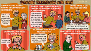 surviving thanksgiving with drugs on madatoms comedy for