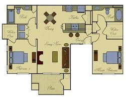 house plans with apartment attached dual master suite house plans valine