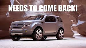 concept bronco 2020 ford bronco sneak peek design concept youtube