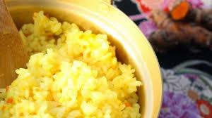 cuisiner le curcuma riz japonais au curcuma frais recette par un peu dans les coings