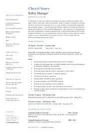 production resume sample stunning asbestos manager resume contemporary best resume cheryl sears safety manager resume