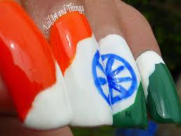 nailart and things independence day nail art indian
