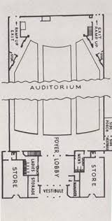 Movie Theater Floor Plan Gc367e0 Mch The Ryan Theatre Traditional Cache In Michigan