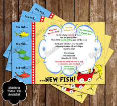 novel concept designs dr seuss one fish two fish baby shower
