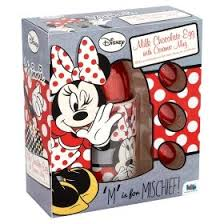 minnie mouse ceramic mug u0026 chocolate easter eggs gift