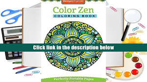 free download color zen coloring book on the go on the go