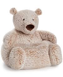 Toy Chair First Impressions Plush Bear Chair Baby Boys U0026 Girls 0 24 Months