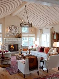 view furniture placement in living room with fireplace decorate