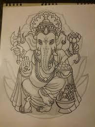 lord ganesh design by srwolvier on deviantart