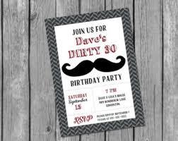 printable male birthday invitation masculine birthday