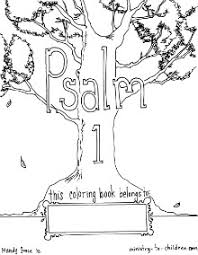 free coloring book based psalm 1 memory sonlight core