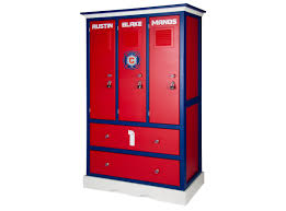 Pottery Barn Locker Dresser Childern U0027s Locker Style Dresser Sports Themed Furniture Soccer