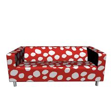 klippan sofa bezug klippan 2er sofa dottevik rot einrichten planen in 3d