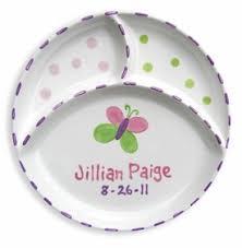 personalized baby plate personalized baby plates best plate 2018