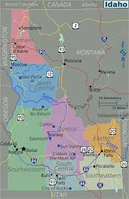 idaho zone map where is idaho idaho maps mapsof