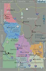 Map Of Idaho And Montana by Where Is Idaho Idaho Maps U2022 Mapsof Net