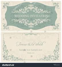 wedding invitation blue vector matik for