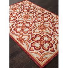 Modern Red Rug by Flooring Modern Trellis Ink Indoor Outdoor Rugs In Black For