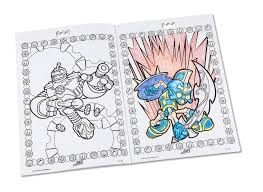 skylander printable coloring pages amazon com crayola color alive action coloring pages combo set
