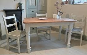 Kitchen White Farmhouse Table Wash And Black Tables Chairs Eiforces - Farmhouse kitchen table