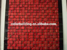Red Tile Backsplash - red backsplash tile capitangeneral