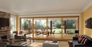 interior glass walls for homes large sliding glass walls moving glass wall systems milgard
