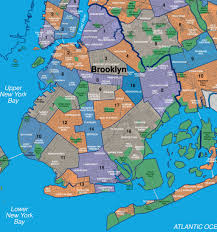 Map Of New York Harbor by Map Of Brooklyn Neighborhoods