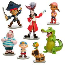 jake and the neverland pirates birthday invites amazon com captain jake and the never land pirates figure play
