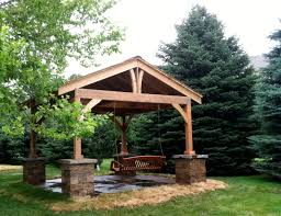 the inland group gazebo backyard retreat