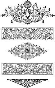 148 best frames ornamental scrolls corner images on