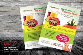 nutrition brochure template healthy food flyer templates by kinzi21 graphicriver
