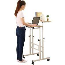 desk height for 6 2 sdadi 2 inches carpet wheel mobile stand up desk height adjustable