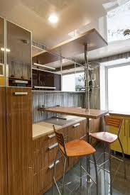 small kitchen design ideas some are incredibly tiny tiny natural wood kitchen modern design with small dining counter