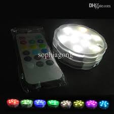 battery operated remote led lights with 3xaa copper wire