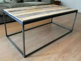 coffee tables dazzling metal coffee table base with teak