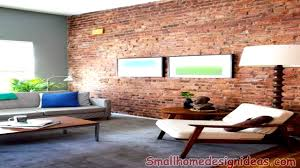 brick wall design modern interiors with exposed brick wall design ideas youtube