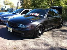 2001 audi a4 1 8t 2001 black audi a4 1 8t chipped murdered out ect 6500 obo