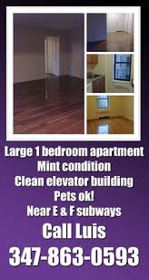 One Bedroom Apartment Queens by 1 Bedroom Apartment With Balcony For Rent In Forest Hills Queens