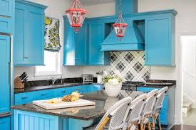 houzz blue kitchen cabinets new this week 6 kitchens with beautiful blue cabinets
