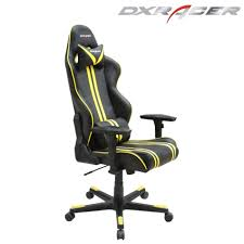 Race Chair Dxracer Gaming Race Chair Rf9ny Black With Yellow Onlinegames