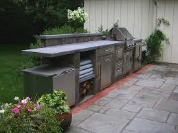 outdoor kitchen awesome wood outdoor kitchen backyard kitchen