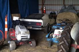 Man Buys Barn Full Of Cars Check Out 10 Of The Rarest Barn Find Mustangs Of All Time