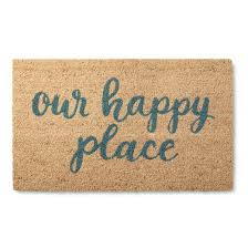 Come In And Go Away Doormat Our Happy Place Rug 1 U00276