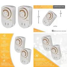24 hr timer light switch light switch timer 24 hour setting mechanical outlet automates fan