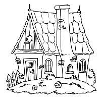 coloring pages houses house picture coloring pages 22 games the sun games site flash