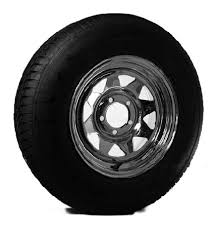 15 Inch Truck Tires Bias 13 Inch Chrome Spoke Trailer Wheel 5 X 4 5 And Bias Ply Trailer
