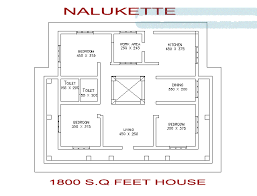 Home Design For 1800 Sq Ft 1800 Square Feet 3 Bedroom Nalukettu Kerala Home Design With Plan